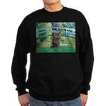 Bridge /Cairn Terrier (w) Sweatshirt (dark)