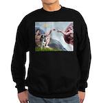 Creation / Catahoula Leopard Sweatshirt (dark)