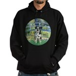 Bridge / Catahoula Leopard Dog Hoodie (dark)