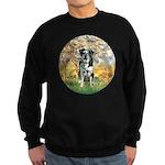 Spring / Catahoula Leopard Dog Sweatshirt (dark)