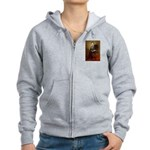 Lincoln & his Cavalier (BT) Women's Zip Hoodie