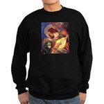 Angel (3) & Cavalier (BT) Sweatshirt (dark)