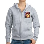 Angel (3) & Cavalier (BT) Women's Zip Hoodie