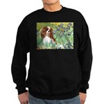 Irises & Cavalier Sweatshirt (dark)