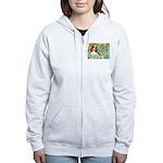 Irises & Cavalier Women's Zip Hoodie
