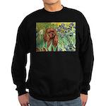 Irises & Ruby Cavalier Sweatshirt (dark)