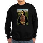Mona's Ruby Cavalier Sweatshirt (dark)