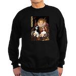 The Queens Cavalier Pair Sweatshirt (dark)