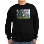 Lilies & Chihuahua Sweatshirt (dark)