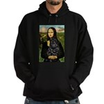 Mona's Black Shar Pei Hoodie (dark)