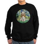 Bridge / Cocker Spaniel (buff) Sweatshirt (dark)