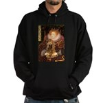 Queen / Cocker Spaniel (br) Hoodie (dark)