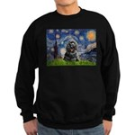 Starry Night / Black Cocke Sweatshirt (dark)