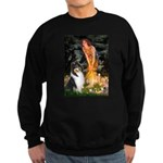 Midsummer's Eve / Collie (tri) Sweatshirt (dark)