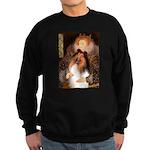 Queen / Collie (tri) Sweatshirt (dark)