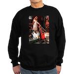 Accolade / Collie pair Sweatshirt (dark)
