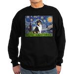 Starry Night / Collie (tri) Sweatshirt (dark)