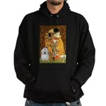 The Kiss / Coton Hoodie (dark)