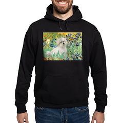 Irises / Coton Hoodie (dark)