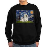 Starry / Coton de Tulear (#7) Sweatshirt (dark)