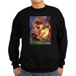 Mandolin Angel & Doxie (BT) Sweatshirt (dark)