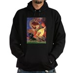 Mandolin Angel & Doxie (BT) Hoodie (dark)