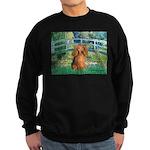 Bridge & Doxie (LH-Sable) Sweatshirt (dark)