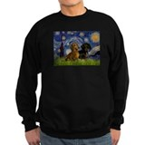 Dachshund sweatshirts women Sweatshirt (dark)