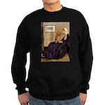 Whistler's /Dachshund(LH-Sabl) Sweatshirt (dark)