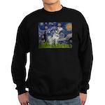 Starry Night / Dalmation Sweatshirt (dark)