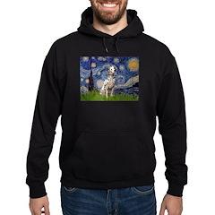 Starry /Dalmatian Hoodie (dark)