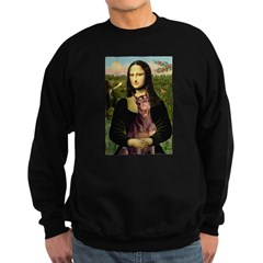 Mona's Red Doberman Sweatshirt