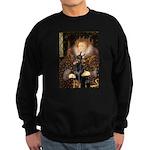 The Queen's Dobie Sweatshirt (dark)
