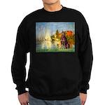 Regatta / Red Doberman Sweatshirt (dark)