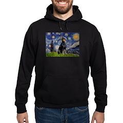 Starry Night Doberman Hoodie