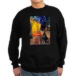 Cafe & Doberman Sweatshirt (dark)