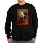 Lincoln's English Bulldog Sweatshirt (dark)