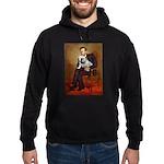Lincoln's English Bulldog Hoodie (dark)