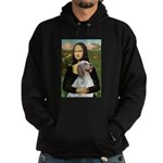 Mona's English Setter Hoodie (dark)