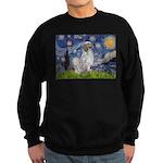 English Setter / Starry Night Sweatshirt (dark)