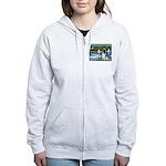 Sailboats / Eng Springer Women's Zip Hoodie