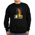 MidEve-EnglishSpringer7 Sweatshirt (dark)