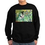 Irises / T (#1) Sweatshirt (dark)