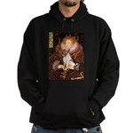 Queen/Fox Terrier (#S4) Hoodie (dark)
