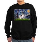 Starry / Fox Terrier (#1) Sweatshirt (dark)