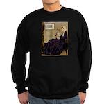 Mom's Wire Fox Terrier Sweatshirt (dark)