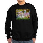 Garden / Fr Bulldog(f) Sweatshirt (dark)