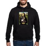Mona / Fr Bulldog(brin) Hoodie (dark)