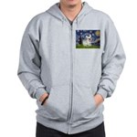 Starry / Fr Bulldog (f) Zip Hoodie