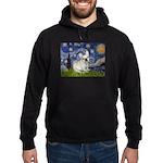 Starry / Fr Bulldog (f) Hoodie (dark)